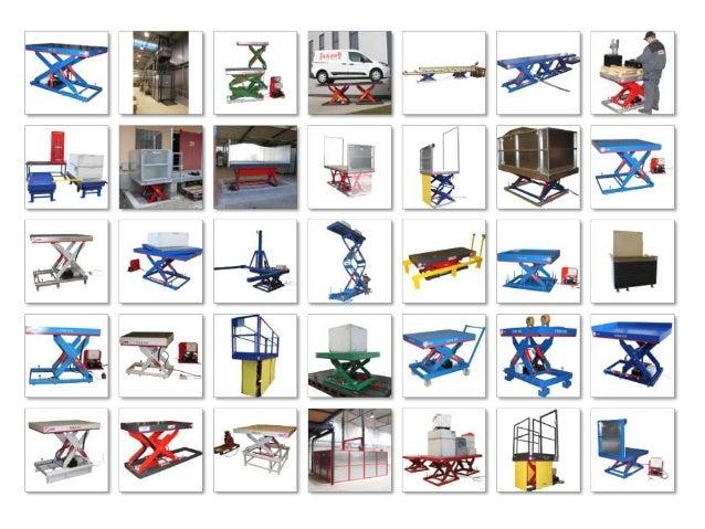Standard-Scherenhubtisch Technische Daten für Produktbeispiel: Tragfähigkeit 750 kg Plattformbreite 1.000 mm Plattformläng...