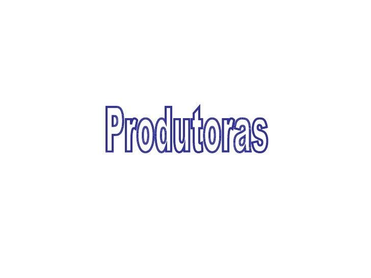 Produtoras