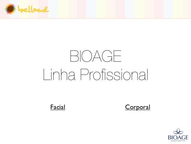 Produtos BIOAGE - Bellauê