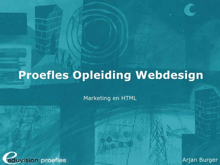 Proefles Cursus Webdesign