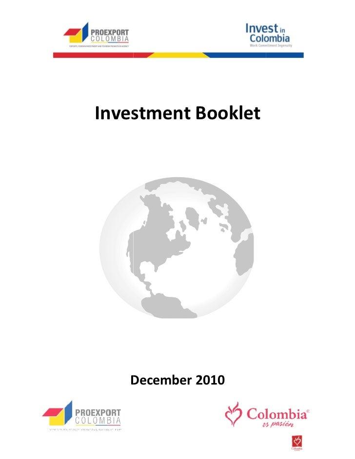 Investment Booklet   December 2010