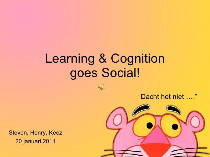 Learning & Cognition goes social!