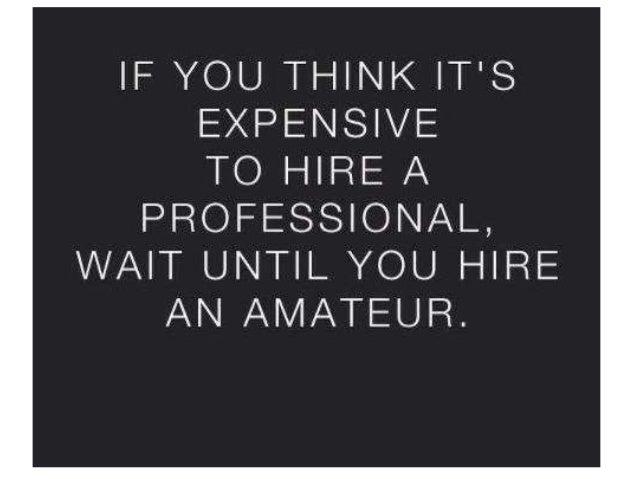 Professional duur?