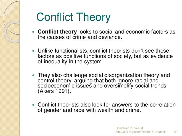 conflict theory of single parent homes Conflict theory of single parent homes of single parent homes as compared to over forty to fifty years ago, single-parent families are common in today's world a single parent is a parent with one or more children, who is not living with any of the children's other parents.