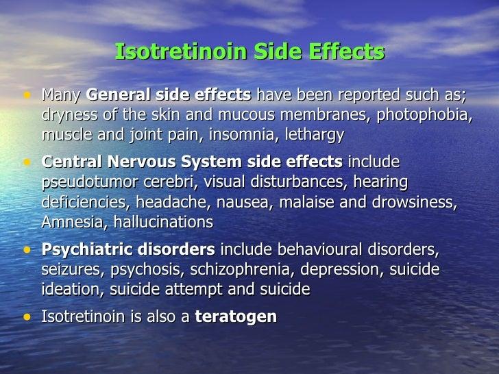Accutane Mental Disorders