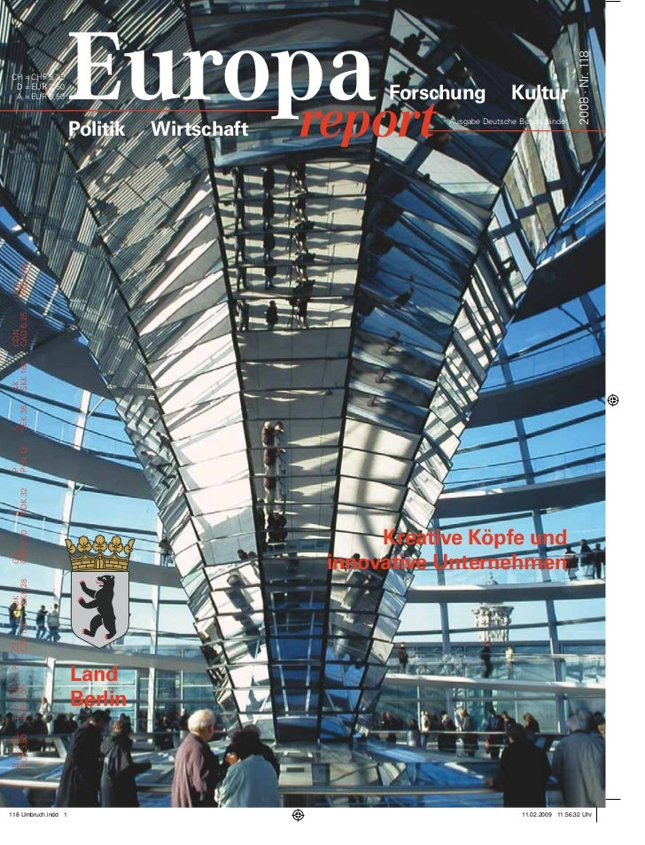 2008 · Nr. 118CH = CHF 5,25 D = EUR 3,50 A = EUR 3,50                                    Forschung            Kultur      ...