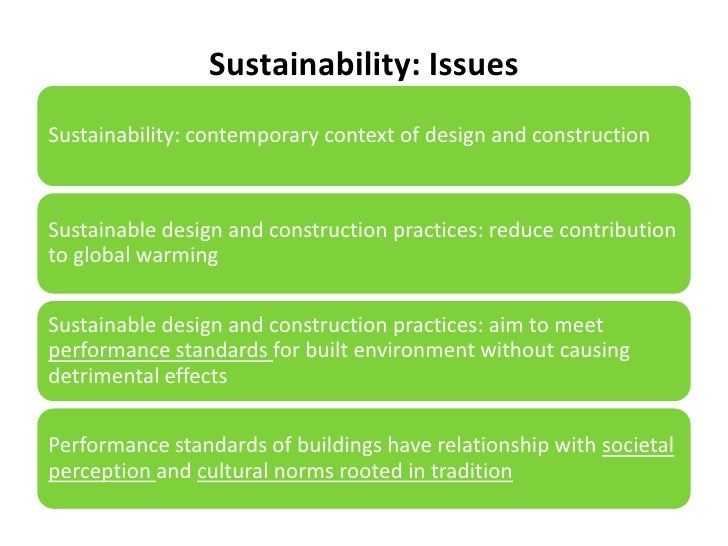 sustainability issues essay General young professionals from generation y consider sustainability and  climate  issues for business and part of bigger systemic changes within society .