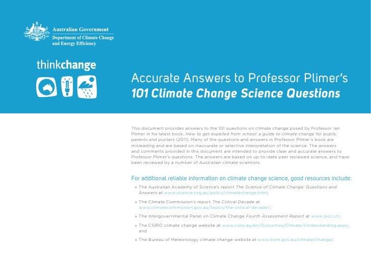 Prof plimer-101-questions-response-pdf