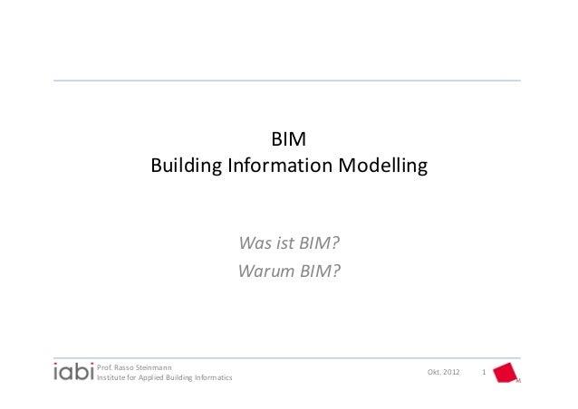 BIM                BuildingInformationModelling                                             WasistBIM?                ...