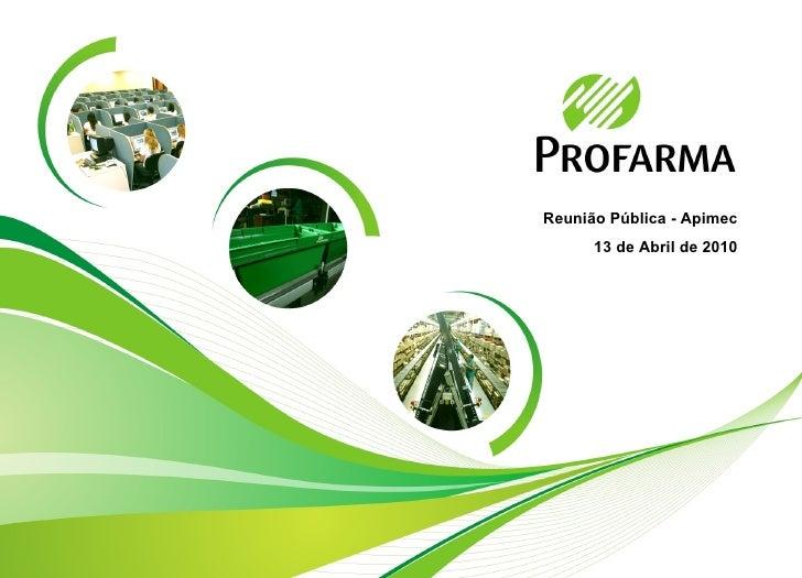 Profarma Apimec 4T09