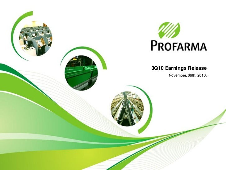 Profarma 3Q10