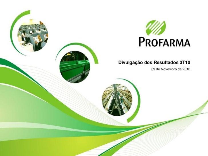 Profarma 3T10