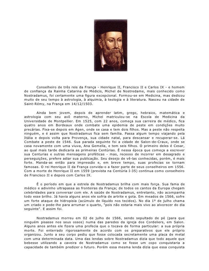 Profecias de Nostradamus.doc
