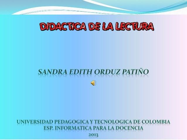 INTRODUCCIÓN1. EL PROCESO DE LECTURA2. NIVELES DE COMPRENSION   LECTORA3. TIPOS DE TEXTO4. ESTRATEGIAS DE LECTURA