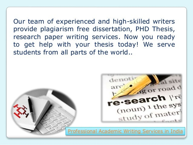 Professional Thesis Writers Service For School