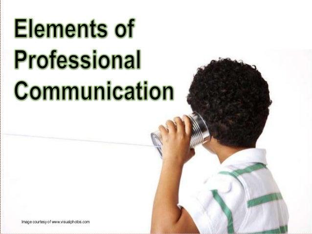 professional communication topics