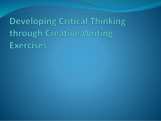 critical thinking at work Browse by Content Type