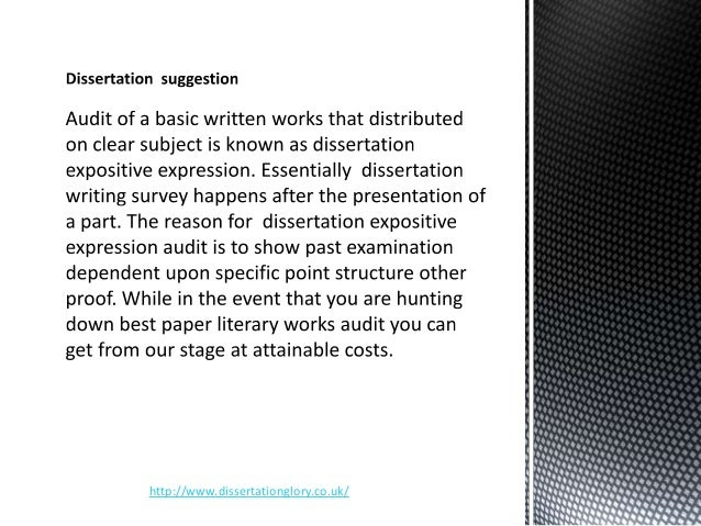 Professional Dissertation Writing Service