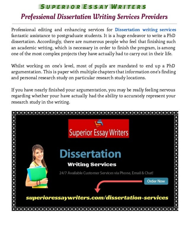 dissertation writing service com