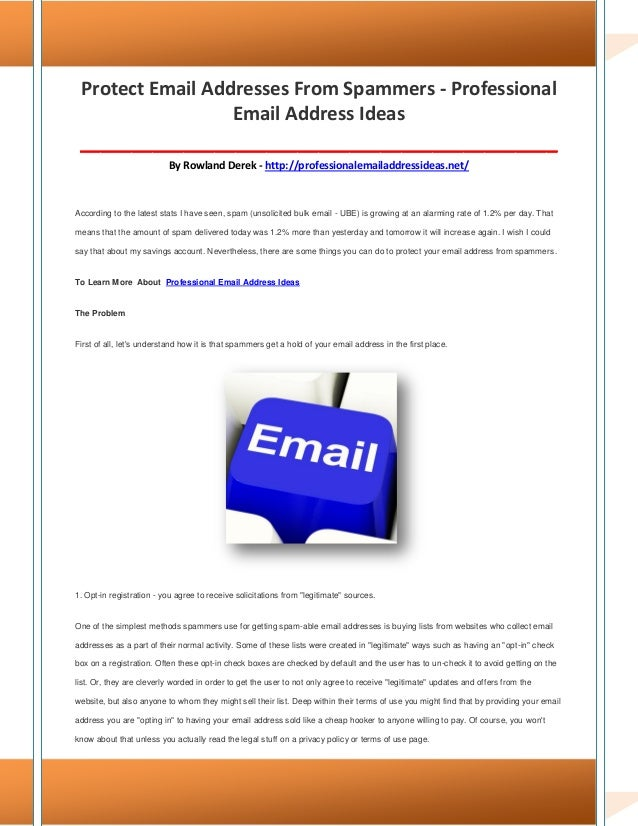 Professional email address ideas HuRpibsR