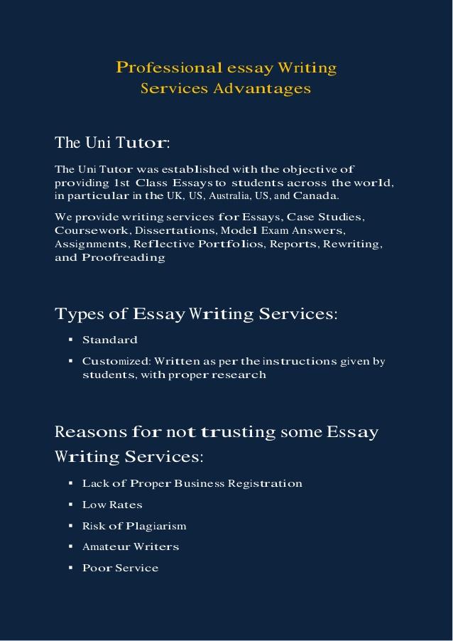 Pure-essay experts