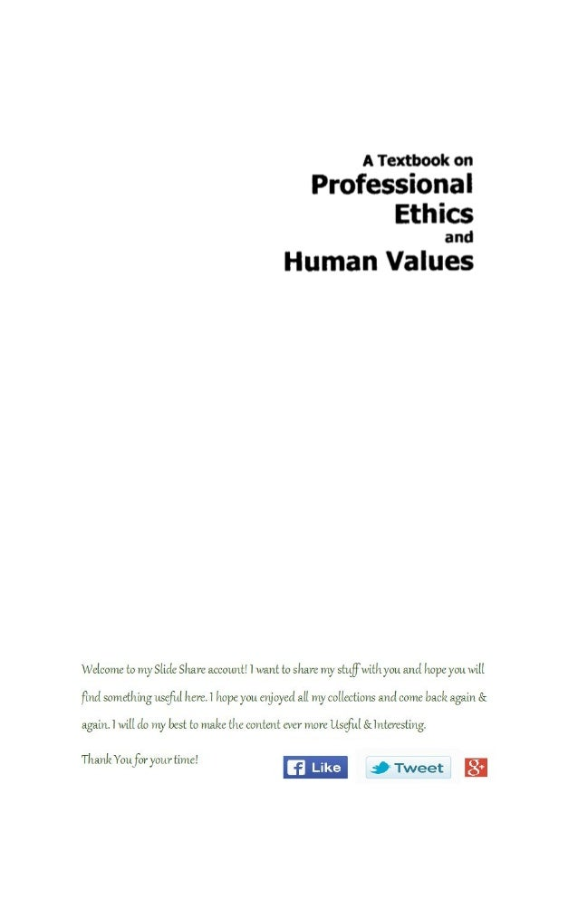 Value and ethics essay