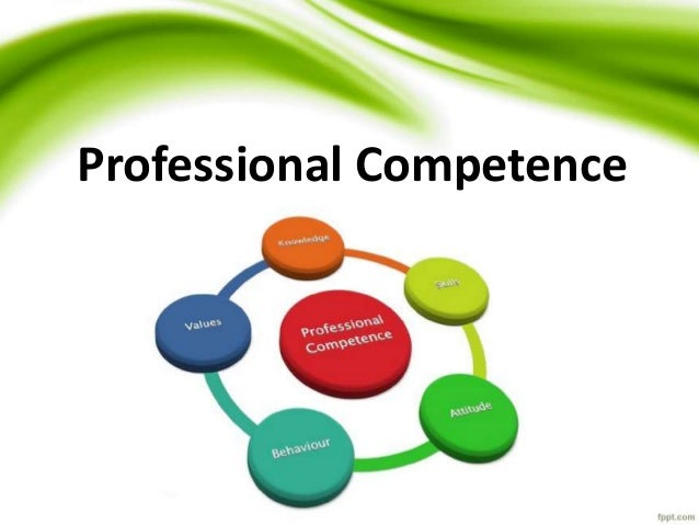 Competence In Professional Ethics