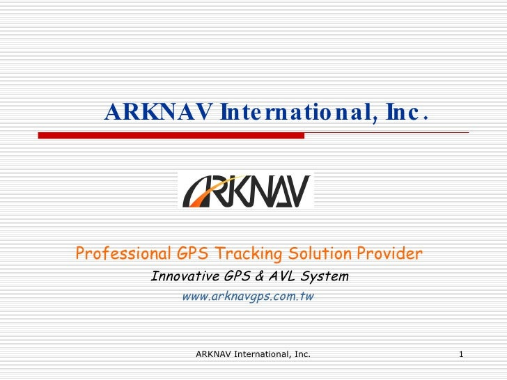 Professional GPS Tracking Solution Provider