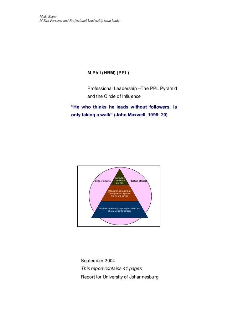 MaRi EagarM Phil Personal and Professional Leadership (cum laude)                                M Phil (HRM) (PPL)       ...