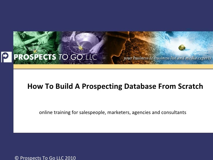 how to build an access database from scratch