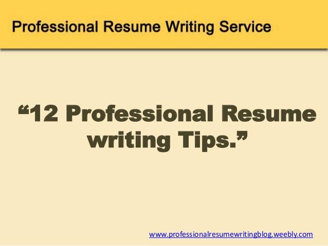 stonevoicesco tips for writing resume 1510