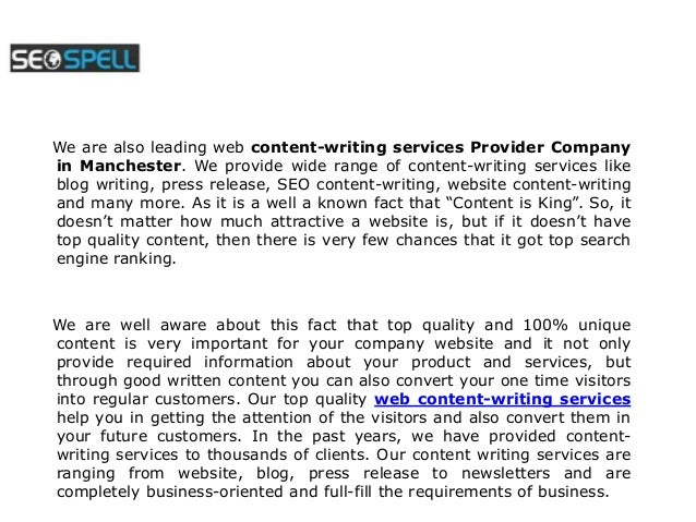 Seo And Content Writing Services Utilizing Seo Content Writing ...