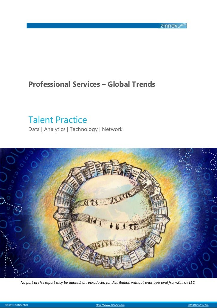 Professional Services – Global Trends                         Talent Practice                         Data | Analytics | T...