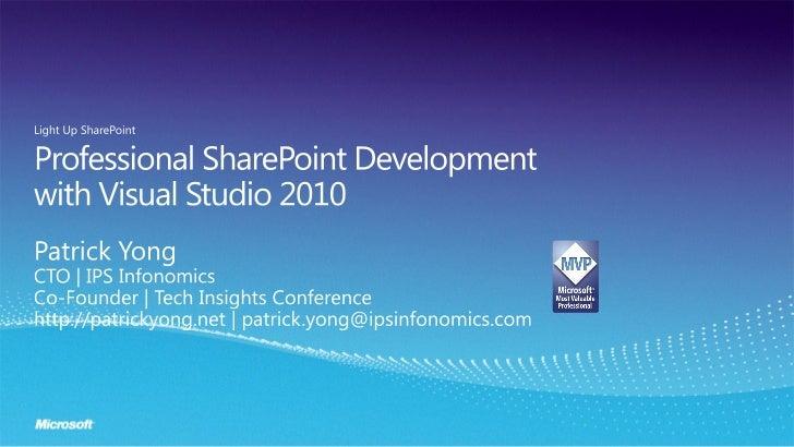 Professional SharePoint development
