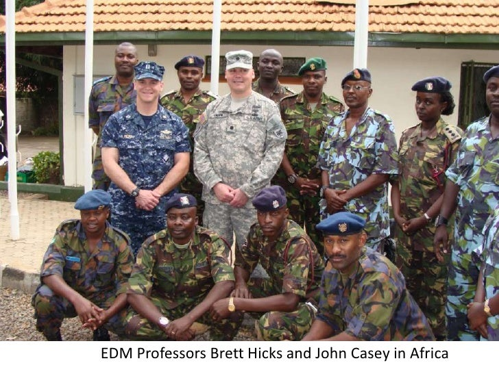 EDM Professors Brett Hicks and John Casey in Africa<br />
