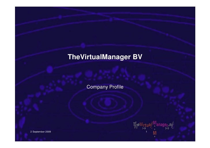 Profiel The Virtual Manager