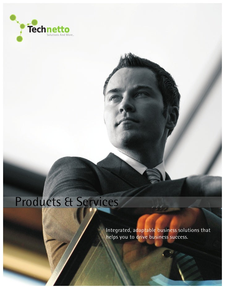 Technetto       Solutions And More..     Products & Services                              Integrated, adaptable business s...