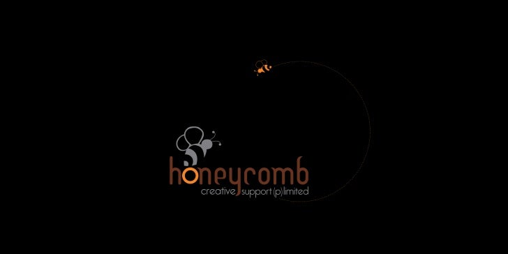 Profile honeycomb creative support