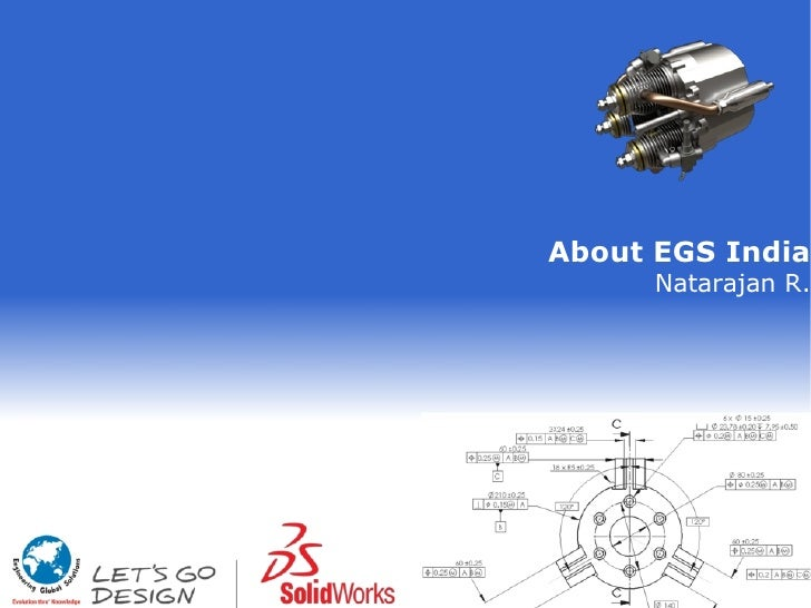 About EGS India      Natarajan R.