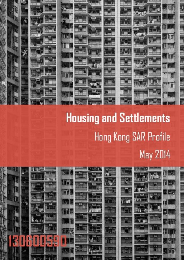 Hong Kong Housing Profile