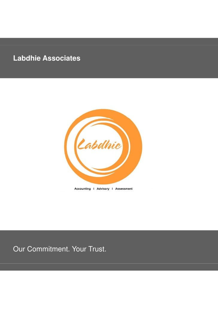 Labdhie AssociatesOur Commitment. Your Trust.
