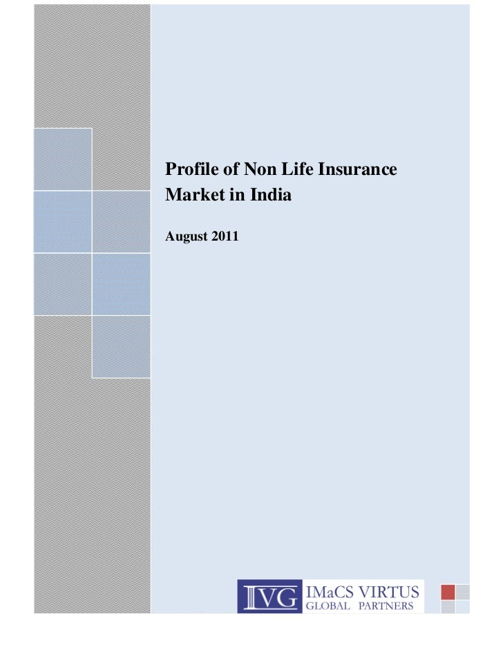 sj                           Profile of Non Life Insurance                           Market in India                      ...