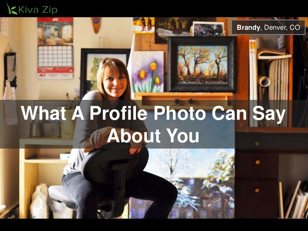 What A Profile Photo Can Say About You