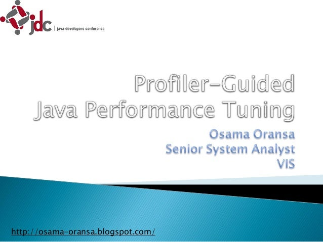 profiler guided java performance tuning