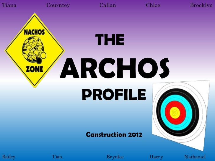 THE            ARCHOS                PROFILE                Canstruction 2012Bailey   Tiah         Brynlee       Harry   N...