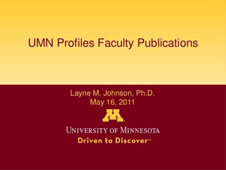 Layne Johnson Open Forum - MLA 2011