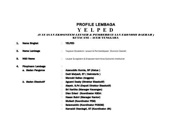 Profile yelped terbaru 2010