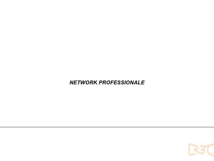 Servizi innovativi NETWORK PROFESSIONALE
