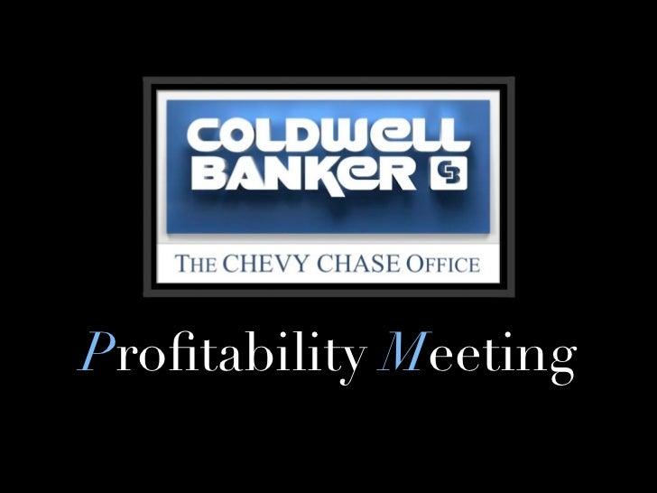 Profitability meeting 7.12.11