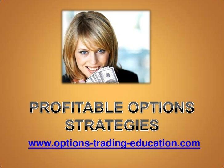 Profitable Options Strategies